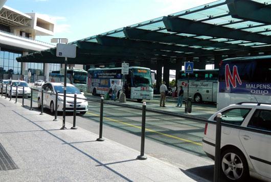 Milaan_taxi-malpensa-terminal