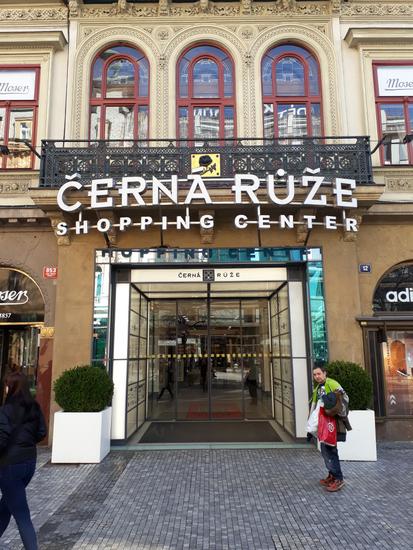 Praag_cerna-ruze-winkelcentrum