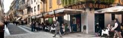 Brera, hippe wijk in Milaan