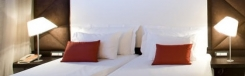 Nhow, modern hotel in een levendige wijk