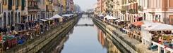 Flaneren langs de kanalen van Navigli