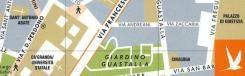 Milaan in kaart
