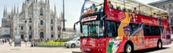 Korting op de Hop-on Hop-off bus in Milaan