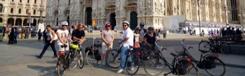 Fietstour langs de bezienswaardigheden van Milaan
