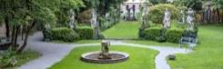 Tuin met wijngaard van Leonardo da Vinci