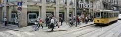 Via Torino, een van de oudste winkelstraten van Milaan