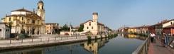 Fietsen langs de Naviglio Grande