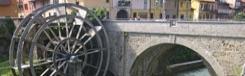 Fietsen langs Naviglio della Martesana