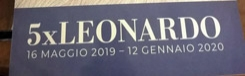 Vijf musea ticket Leonardo da Vinci